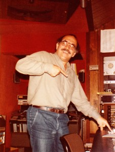 Tommy Lipuma demonstrates proper use of talk-back button