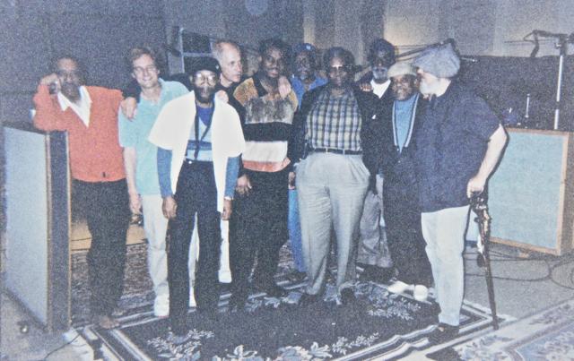 Earl Palmer, Neil Larsen, Hank Crawford, Stewart Levine, Russell Malone, David 'Fathead' Newman, B.B. King, John Heard, Marcus Belgrave, Dr. John.  Los Angeles ,  2004