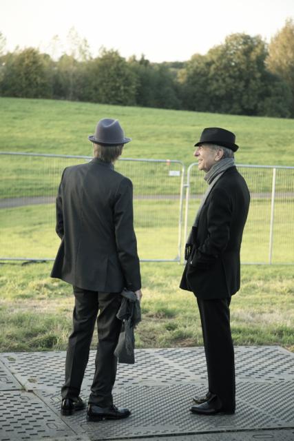 Neil & Leonard Cohen    Dublin,  2013